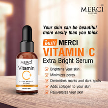 Load image into Gallery viewer, MERCI VITAMIN C Extra Bright Serum