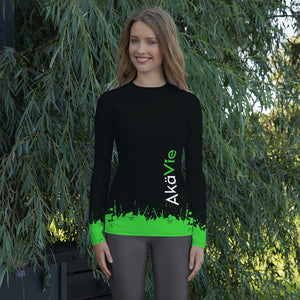 AkäVie Women's Splash Rash Guard