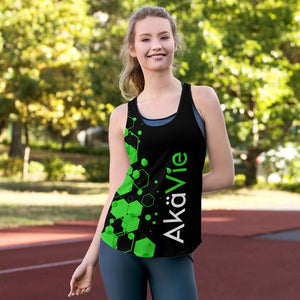 AkäVie Hexagon Women's Racerback Tank