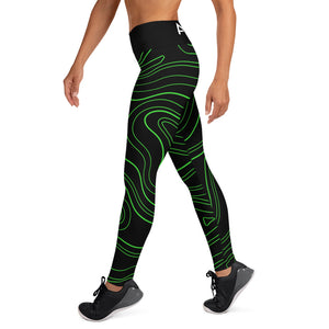 AkäVie Topography Yoga Leggings