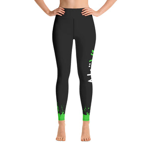 AkäVie Splash Leggings (Logo on left leg)