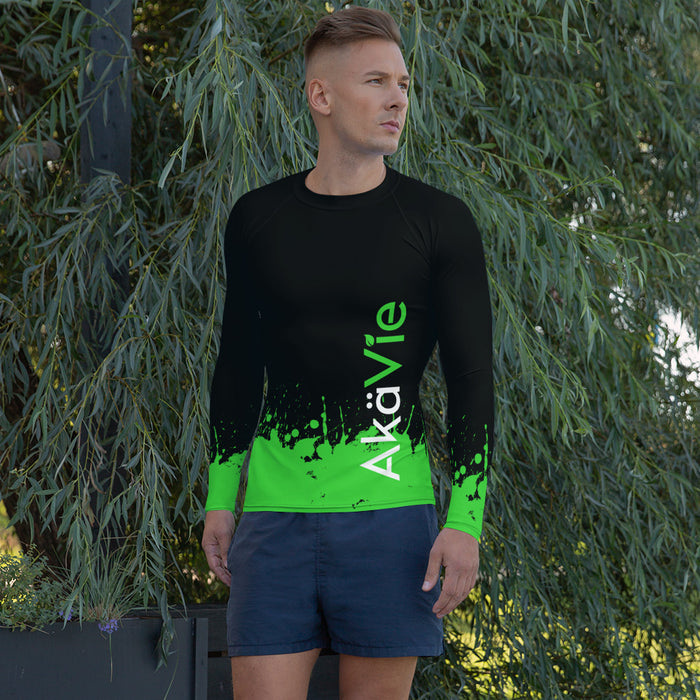AkäVie Men's Splash Rash Guard