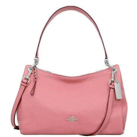 Coach Pebbled Leather Shoulder Bag / Purse / Handbag