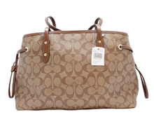 Load image into Gallery viewer, Coach Women's Hand shoulder bag Khaki /Brown