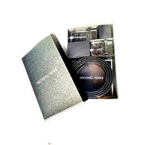 Load image into Gallery viewer, Michael Kors 4 in 1 Gents Belt Box Set (Black)