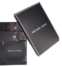 Load image into Gallery viewer, Michael Kors 4 in 1 Gents Belt Box Set (ADML/PL Blue)