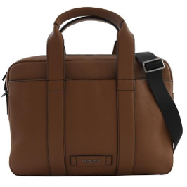 Michael Kors Russel Leather Laptop Bag - Brown