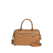 Load image into Gallery viewer, COACH Rowan Satchel In Signature Canvas (Light Saddle)