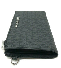 Load image into Gallery viewer, Michael Kors Double zip top Womens wristlet (Black Print)