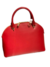 Load image into Gallery viewer, Michael Kors Bag Large Dome Satchel (Scarlet)