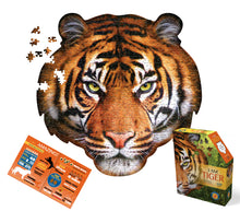 Load image into Gallery viewer, Tiger Head Jigsaw