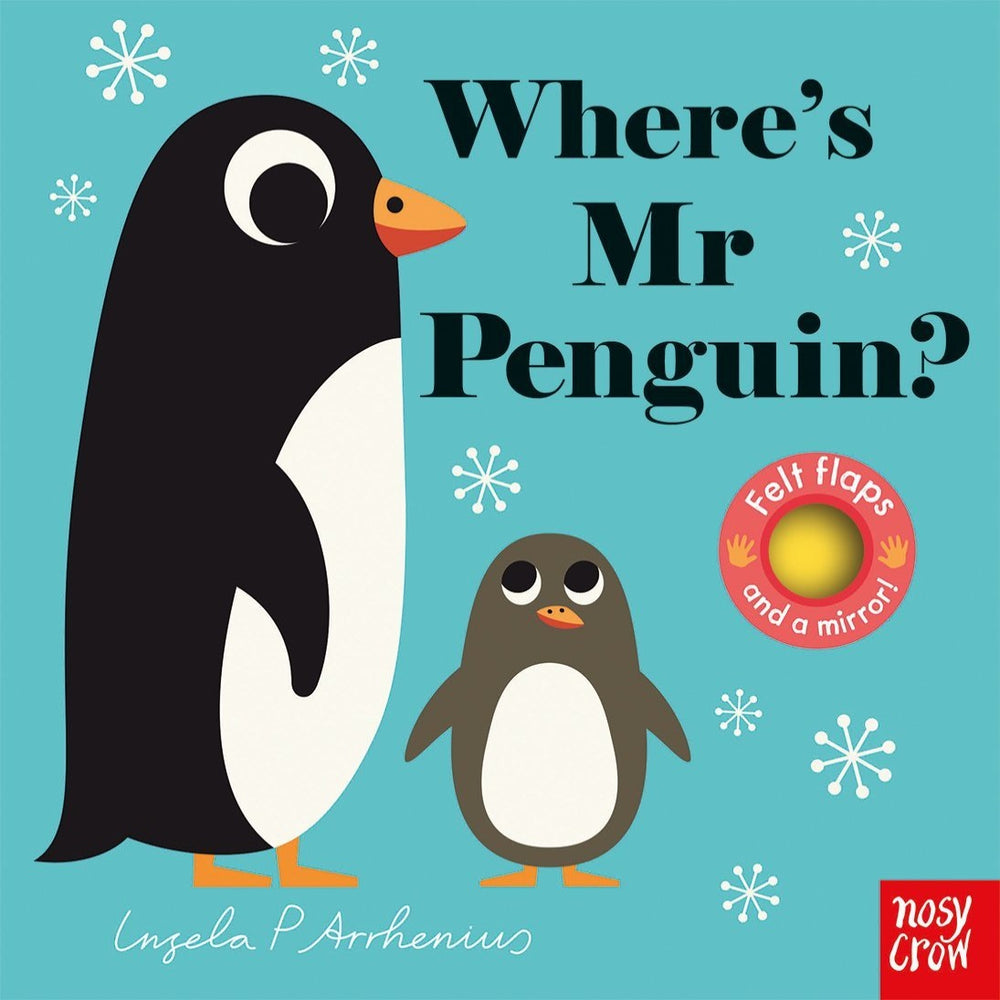 Where's Mr Penguin Lift The Flap Book