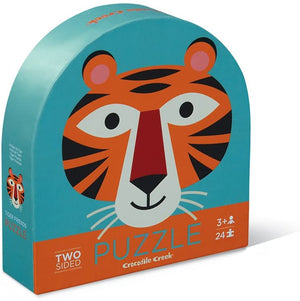 Tiger Two Sided Jigsaw Puzzle