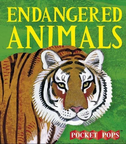 Load image into Gallery viewer, Endangered Animals: A Three-Dimensional Expanding Pocket Guide (Three Dimensional Pop Up