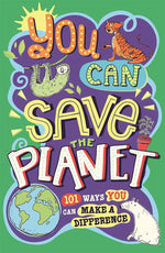 You Can Save The Planet Paperback Book