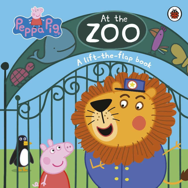 Peppa Pig At The Zoo Flap Book