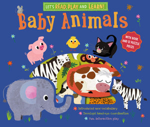 Let's Read, Play and Learn: Baby Animals Board book