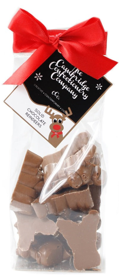 Chocolate Reindeers 130g Bag