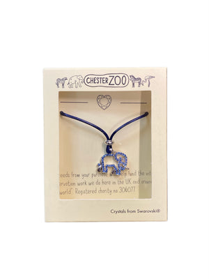 Elephant Necklace created with Swarovski® crystals