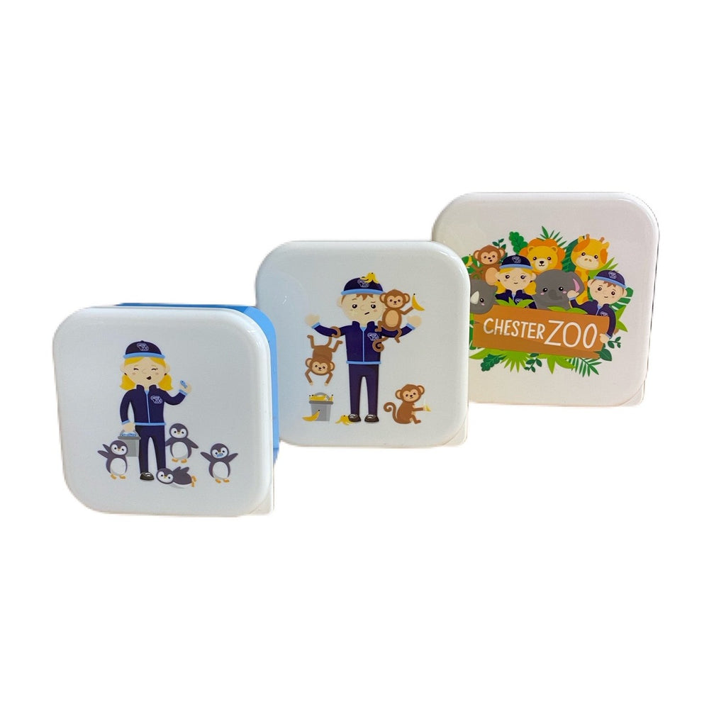 Zookeeper Stacking Snack Pots