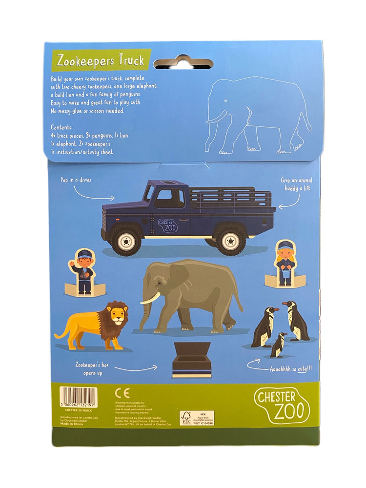 Create Your Own Zookeeper's Truck