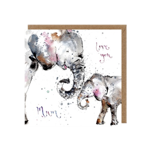 Load image into Gallery viewer, Love You Mum Greetings Card