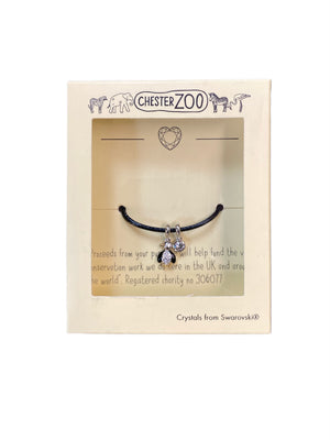 Load image into Gallery viewer, Penguin Bracelet created with Swarovski® crystals