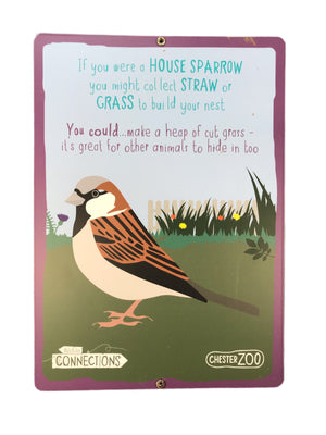 House Sparrow Sign