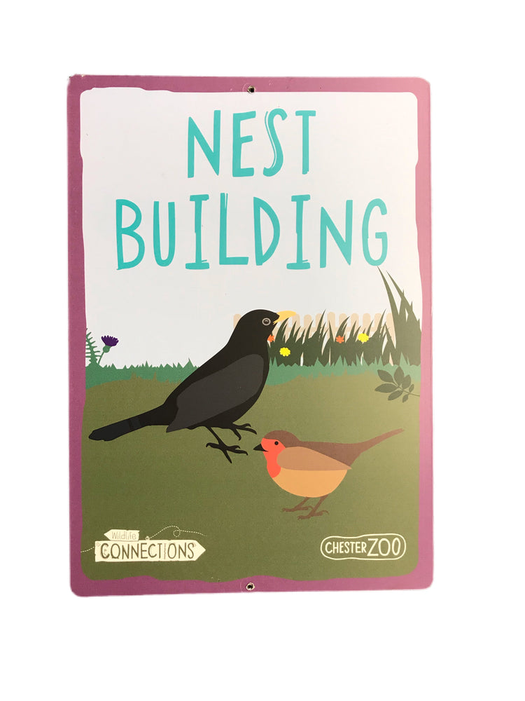 Nest Building Sign
