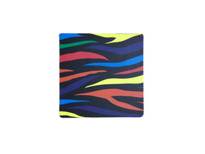 Multi-Coloured Tiger Print Coaster