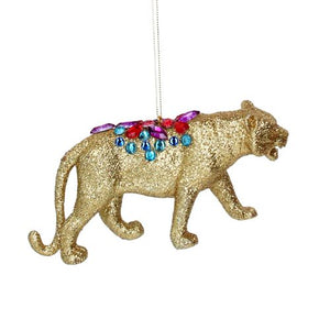 Load image into Gallery viewer, Jewelled Glitter Animal Decoration