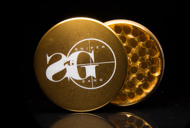 Sniper Gang 4 Piece Grinder (Gold)