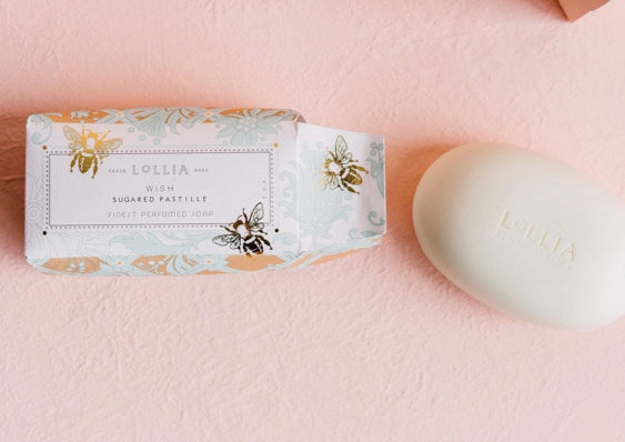 Lollia - Wish Perfumed Shea Butter Bar Soap