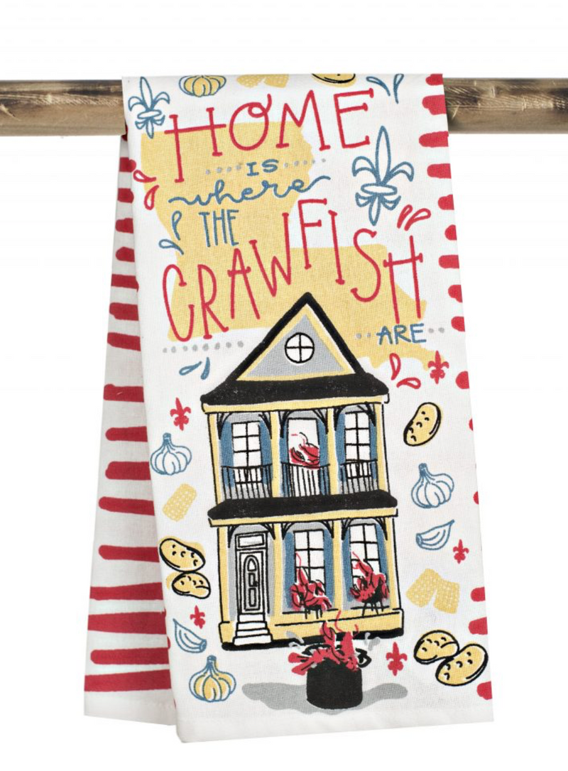 The Parish Line - Home is Where the Crawfish are - Kitchen Towel