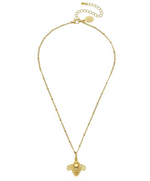 Susan Shaw - Gold Bee Necklace