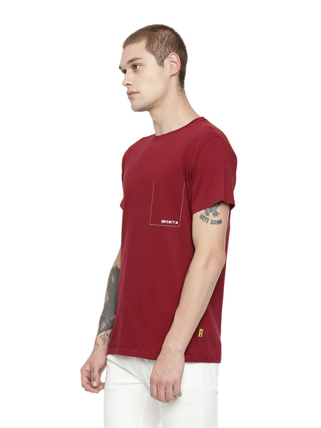 Rust Red T Shirt