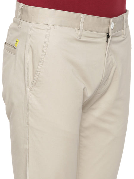 Cream Plain Chino