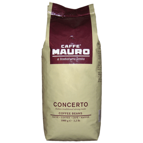 Chef Biologico coffee Caffe Mauro - Concerto Coffee Beans 1kg