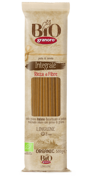 Granoro - Organic Whole Wheat Linguini 500g