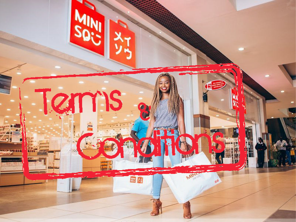 MINISO ONLINE MAURITIUS TERMS And CONDITIONS