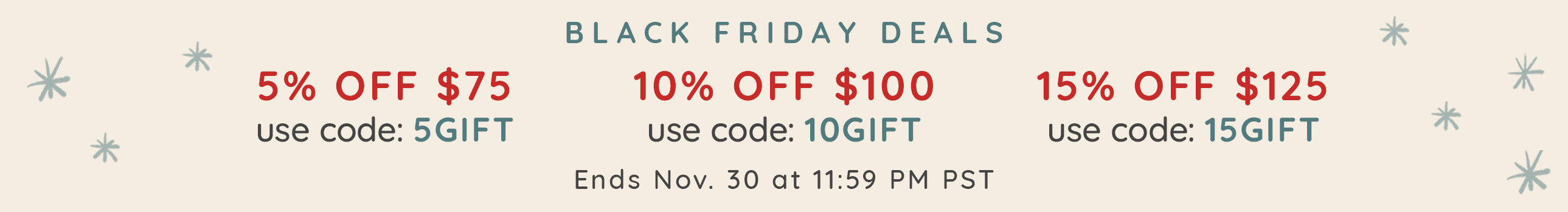 Our Black Friday Sale is here!