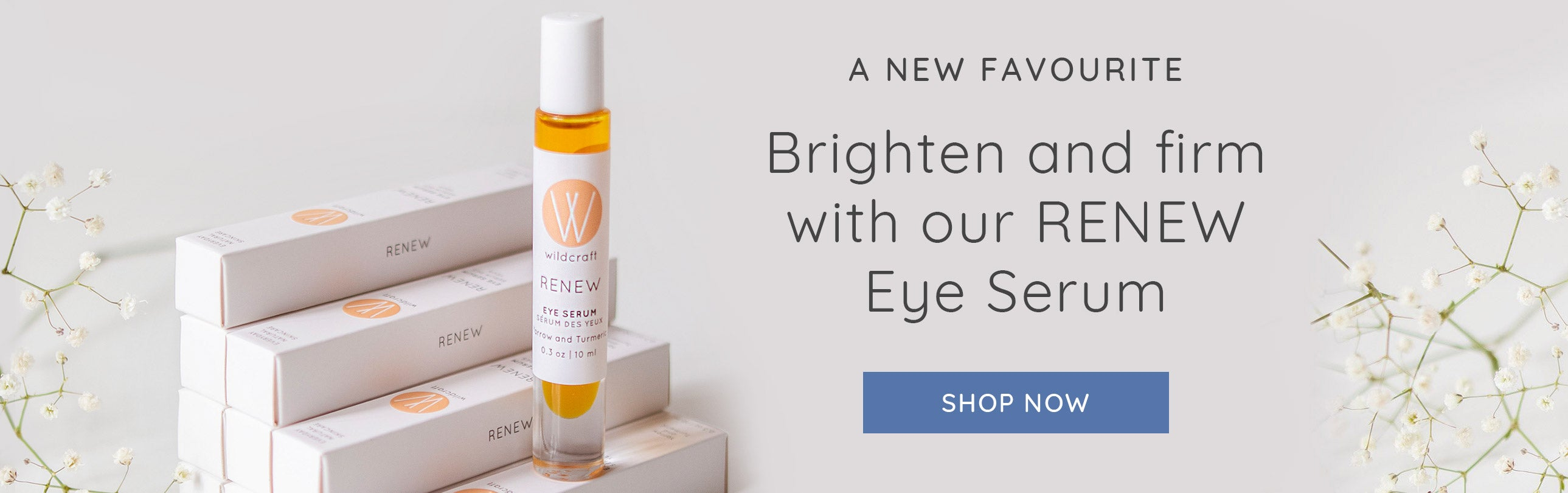 A new favourite: RENEW Eye Serum