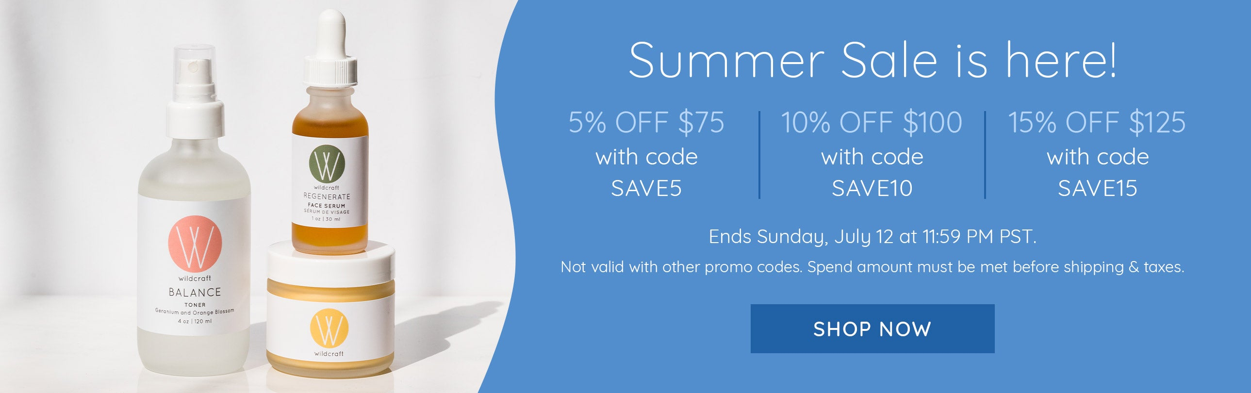 Save up to 15% off with our Summer Sale!