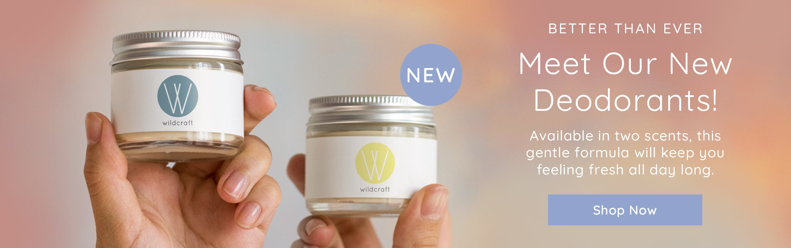 Our new Deodorants are here!