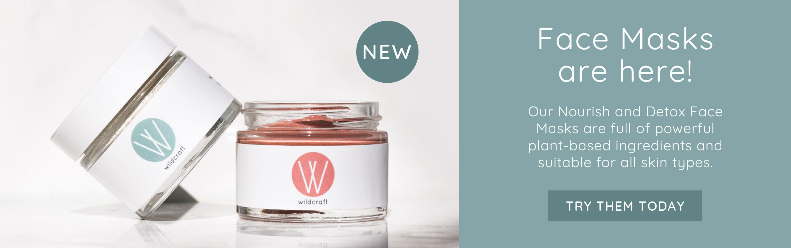 Try our new Face Masks today!