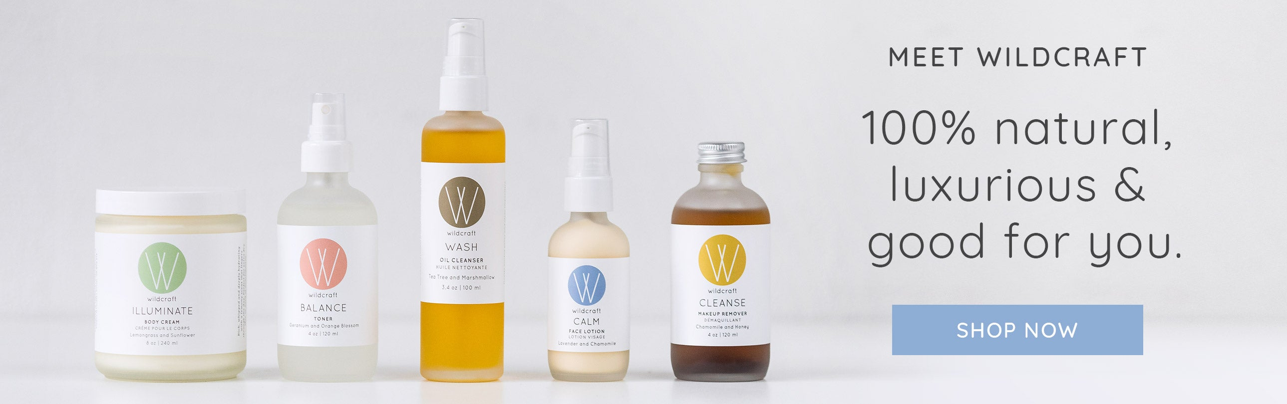 Meet Wildcraft. 100% natural, handmade and affordable skincare.