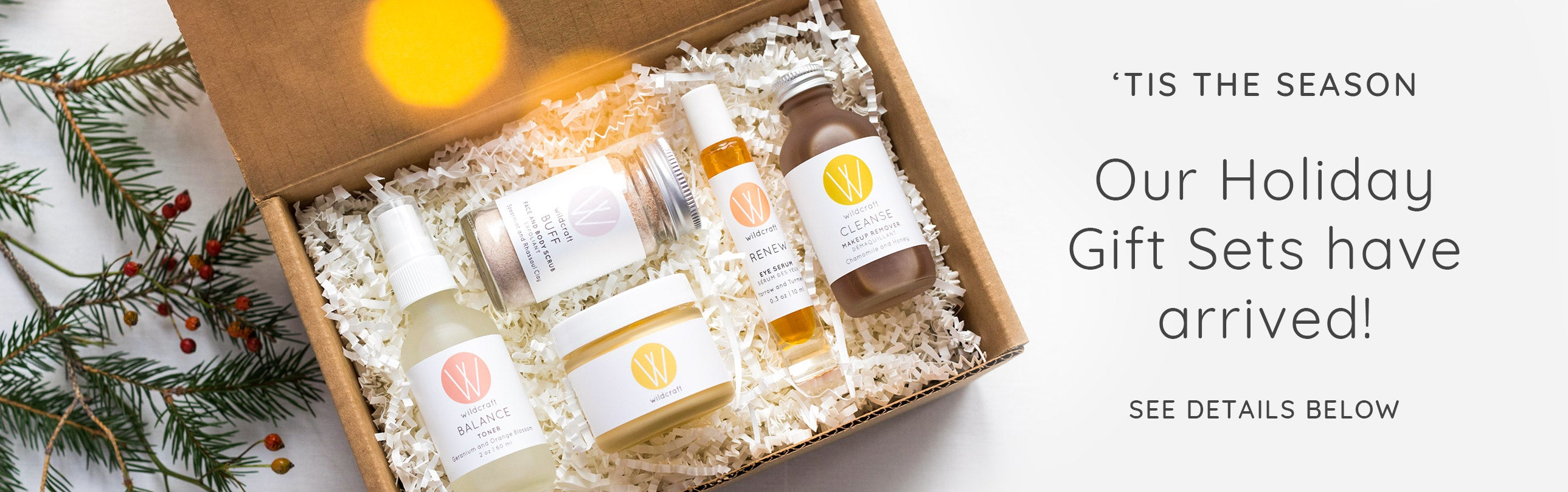 Our Holiday Gift Sets have arrived!