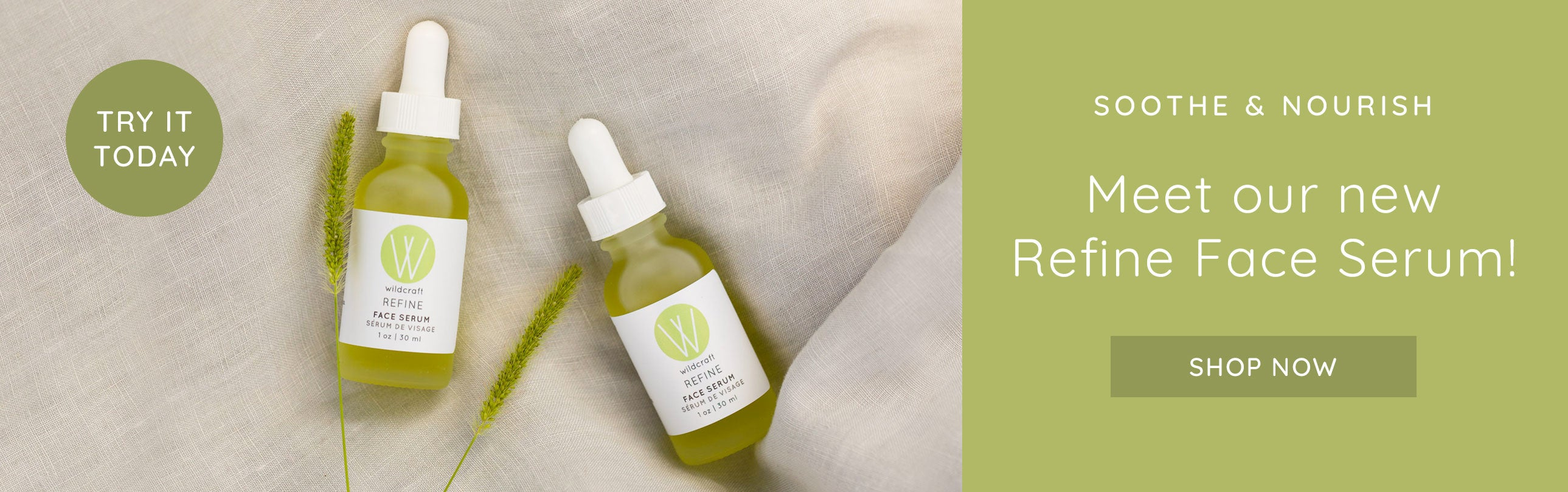 Our Refine Face Serum is here!