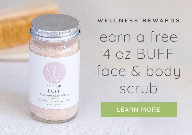 Earn a free Face and Body Scrub!
