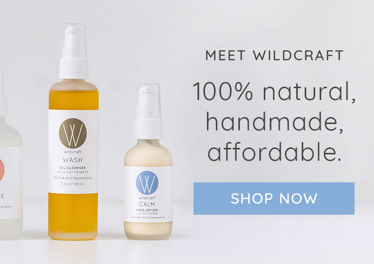 Meet Wildcraft: 100% Natural, handmade and affordable skincare.